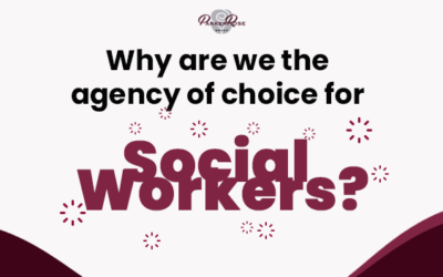 Why are we the agency of choice for Social Workers?